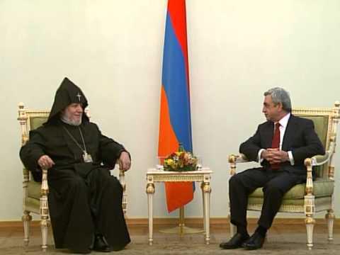 HH Karekin II Sends Letter Of Congratulations To President Sarkisian
