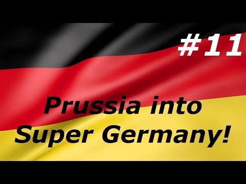 Victoria 2 - Prussia into Super Germany #11