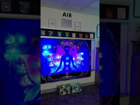 The Cool Down Lounge Couch Elementary School Staff Wellness Room