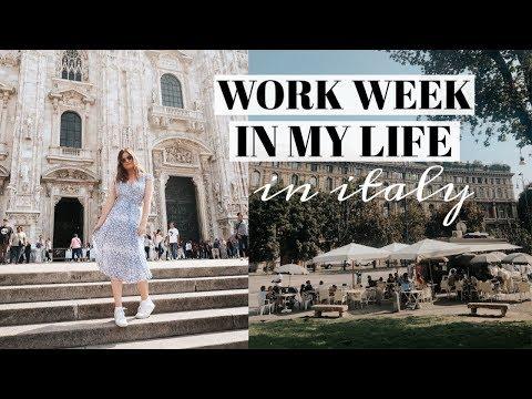 WORK WEEK IN MY LIFE: ITALY WORK TRIP!