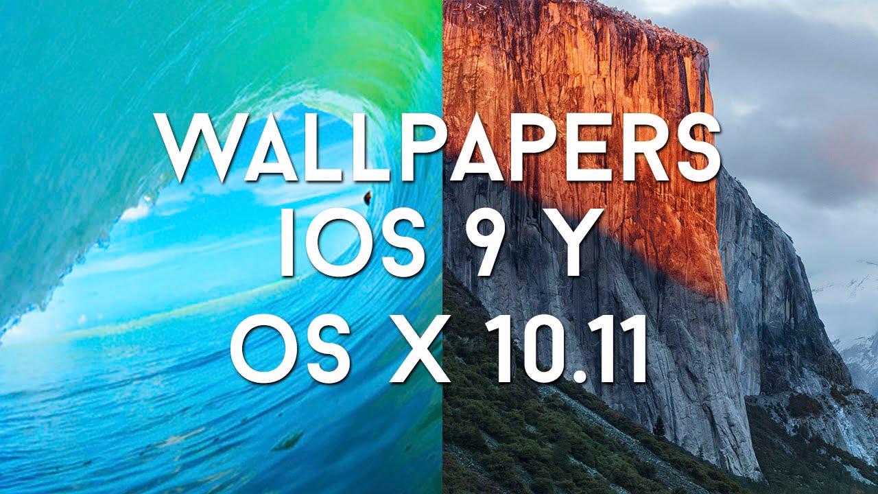 WWDC 2015 I Descargar NUEVOS WALLPAPERS IOS 9 Y OS X El