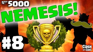 """Clash of Clans """"I HATE This Base!"""" Town Hall Defense Layout Quest to 5000 #8"""