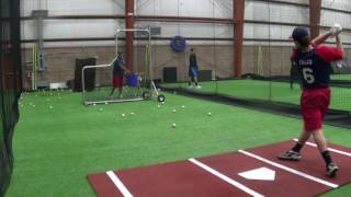 TEAM NEW JERSEY ELITE BASEBALL ACADEMY 2017 - 2017-05-18 Mike Falco Hitting Skills Video