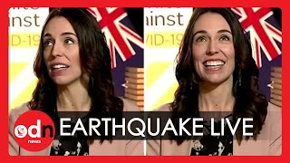 Earthquake Surprises New Zealand PM During Live Interview