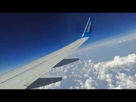 Полет Киев-Тель-Авив МАУ (август 2016) Украина - Израиль