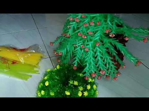 Cara Membuat bunga dari plastik sedotan - Видео приколы ржачные до слез 774a54f57b
