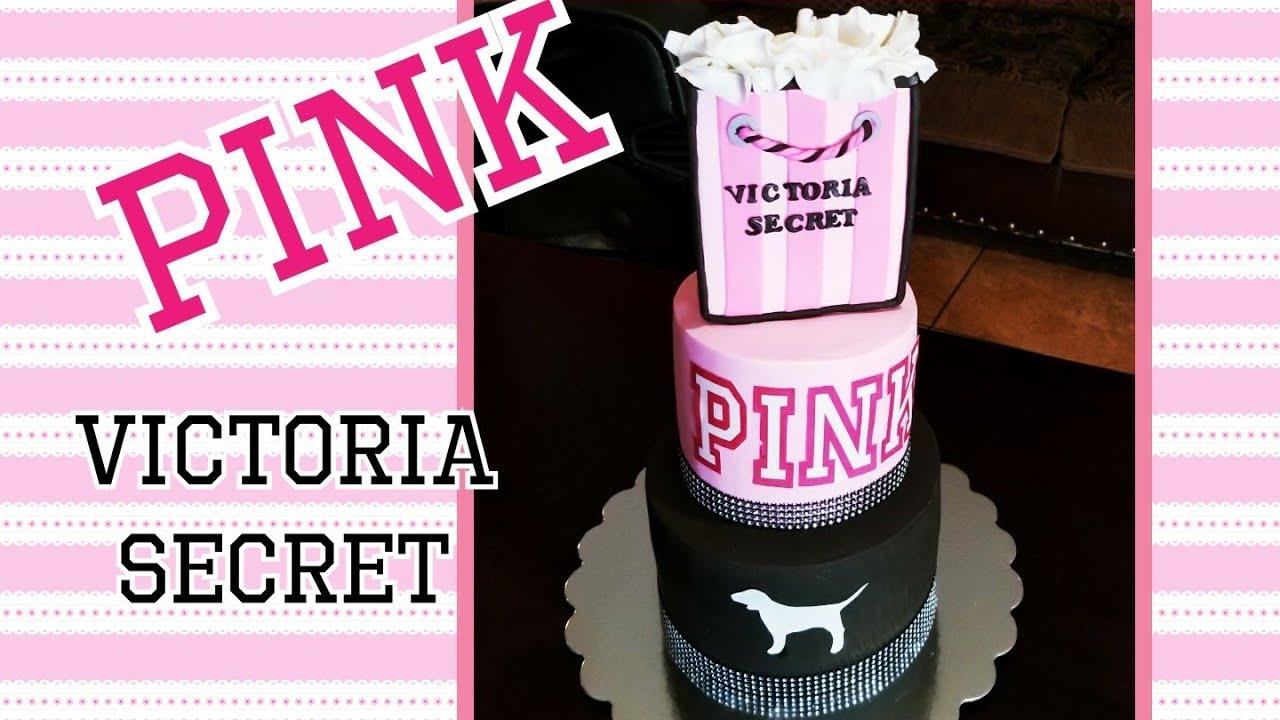 Victoria S Secret Pink Cake Pastel De Victoria Secret Pink Tutorial Youtube