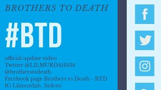 Brothers To Death - Update video (2019)