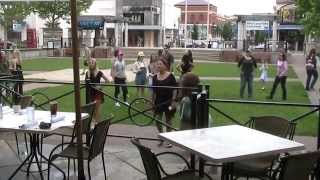 Primary Kidder-Serak Flash Mob Proposal 5/23/15 Bruno Mars Marry You Zona Rosa