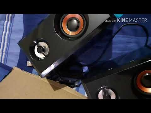 Quantum QHM630 Multimedia Speakers unboxing