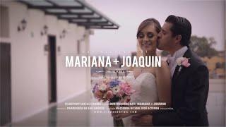 Mariana & Joaquín - Wedding Film Highlights // Cholula, Puebla