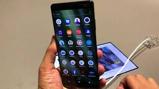 Sony Xperia XZ3: First Look | Hands on | Price | [Hindi हिन्दी]