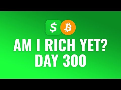 Buying $1 Bitcoin Every Day With Cash App - DAY 300