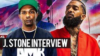 Nipsey Hussle's Artist J $tone's 1st Interview Since Nip's Passing