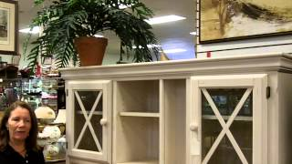Vintage Kitchen Desk Hoosier Cabinet Look Country Furniture In Antique Furniture Mall.