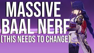 This Baal Nerf Is Making People Rage: Genshin Impact
