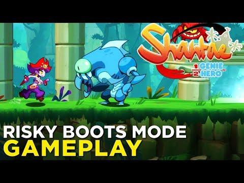 Shantae: Half-Genie Hero: Risky Boots Mode -