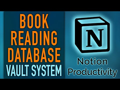 Notion Book Reading Database — The Book Vault