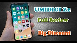 Drop Price UMIDIGI Z2 4G Phablet - TWILIGHT 6GB RAM 64GB ROM Smartphone Review Features