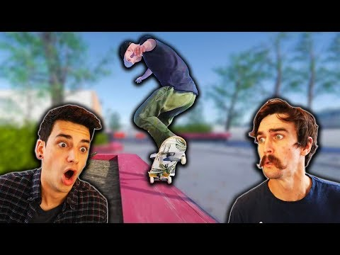 WE PLAYED S.K.A.T.E. IN SKATER XL?! (Feat. Ryan Bracken)