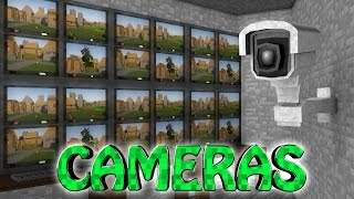 Minecraft   SECURITY CAMERA MOD Showcase! (Security, Cameras, Base Defense, Surveillance)
