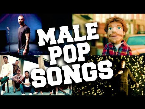 Best 50 Male Pop Songs 2018
