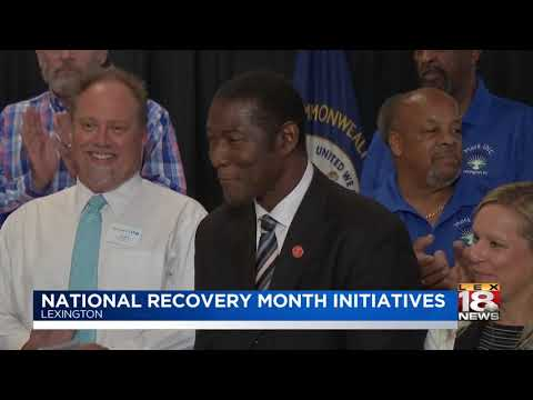 National Recovery Month Initiatives
