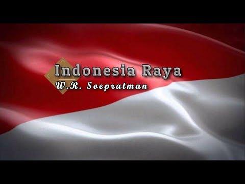 [Karaoke] ♬ W.R. Soepratman - Indonesia Raya ♬ +Lirik Lagu [BRASS]