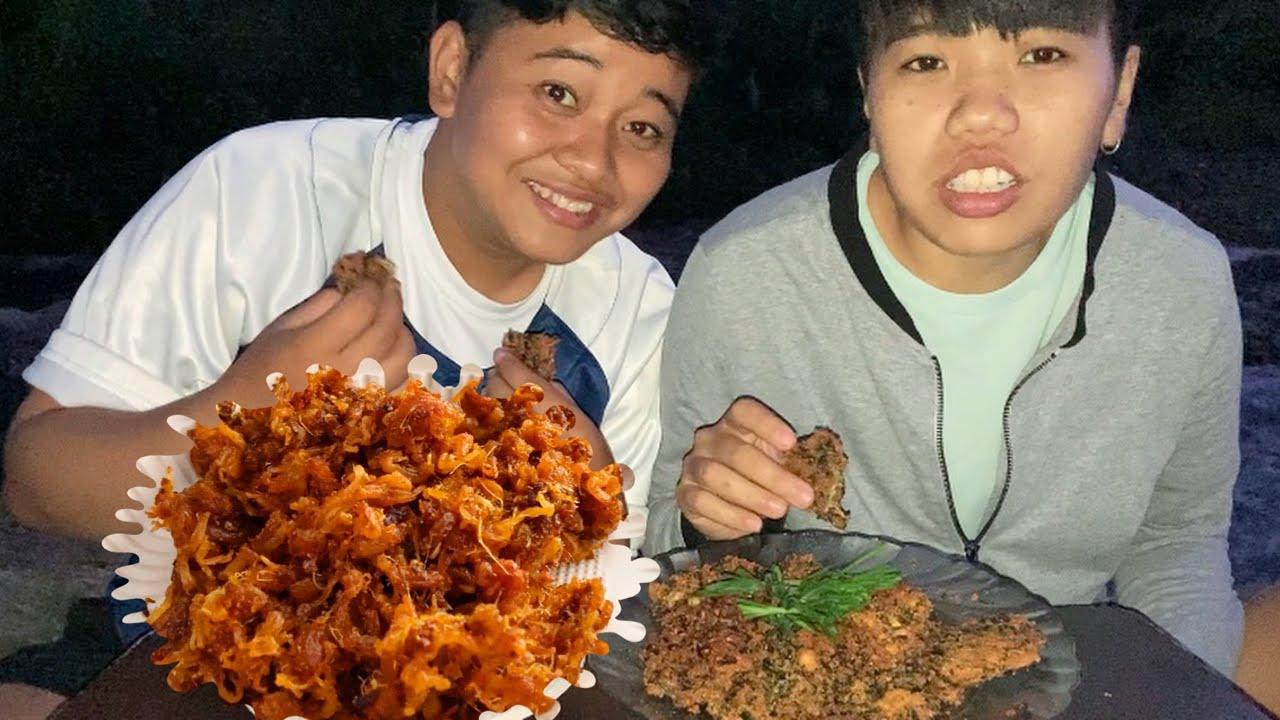 Nga Marum Bora ga Yen Singju Mukbang   Outdoor Mukbang   Delight Pickle   Meitei Mukbang