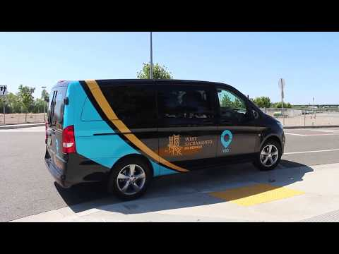 Via Rideshare Launches in West Sacramento