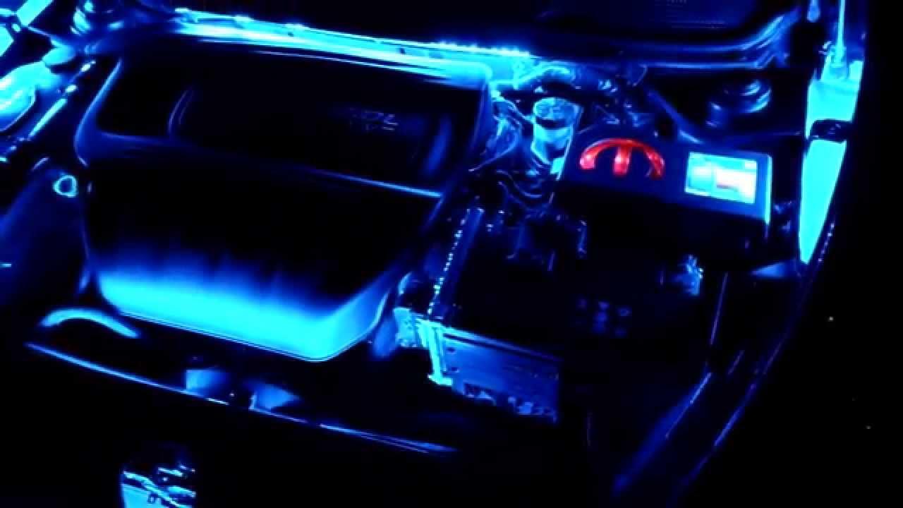 Custom Lighting On A Dodge Dart I Did YouTube