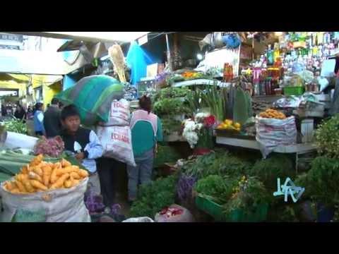 Mercado San Roque LA TV ECUADOR 02/07/15