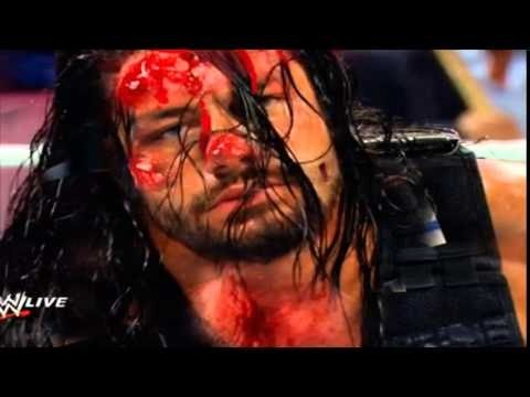 Most Brutal & Dangerous Fight in WWE History! Reigns vs Triple H! Bloddy Match! HD thumbnail