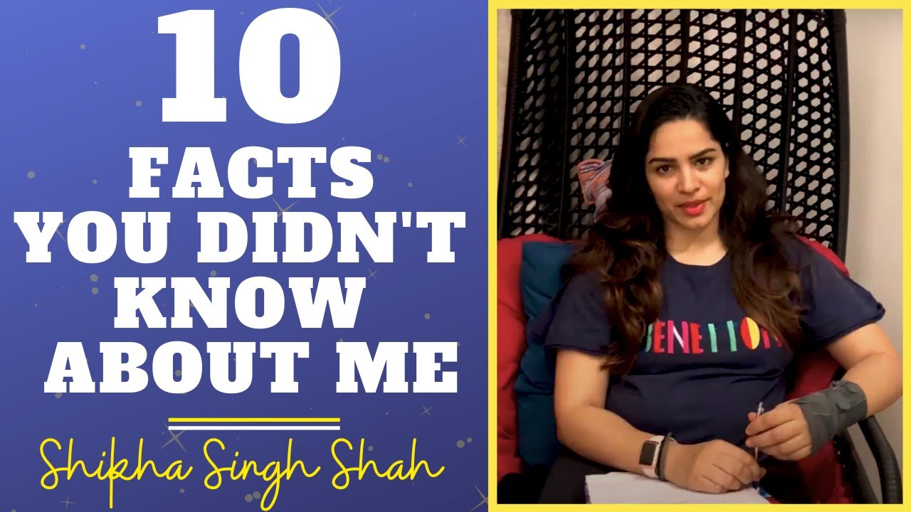 Ten Facts You Didnt Know About Me | Shikha Singh Shah | TV Actress | Celeb