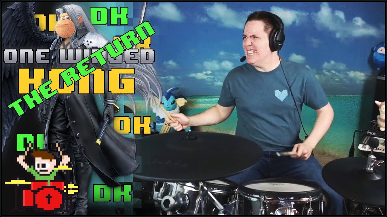 One Winged Kong Rebirth On Drums