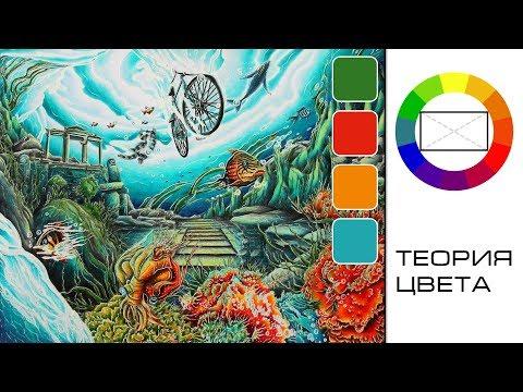 Как научиться красиво подбирать цвета? Теория цвета для начинающих и не только