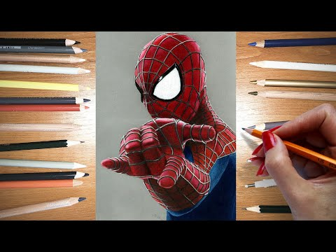 speed drawing the amazing spider man 2 jasmina susak youtube - Spiderman Drawings To Color