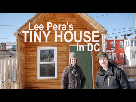 Lee Pera's Tiny House at Boneyard Studios in D.C. (Tour w/Deek)