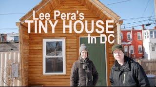 Lee Pera's Tiny House At Boneyard Studios In D.c.  Tour W/deek