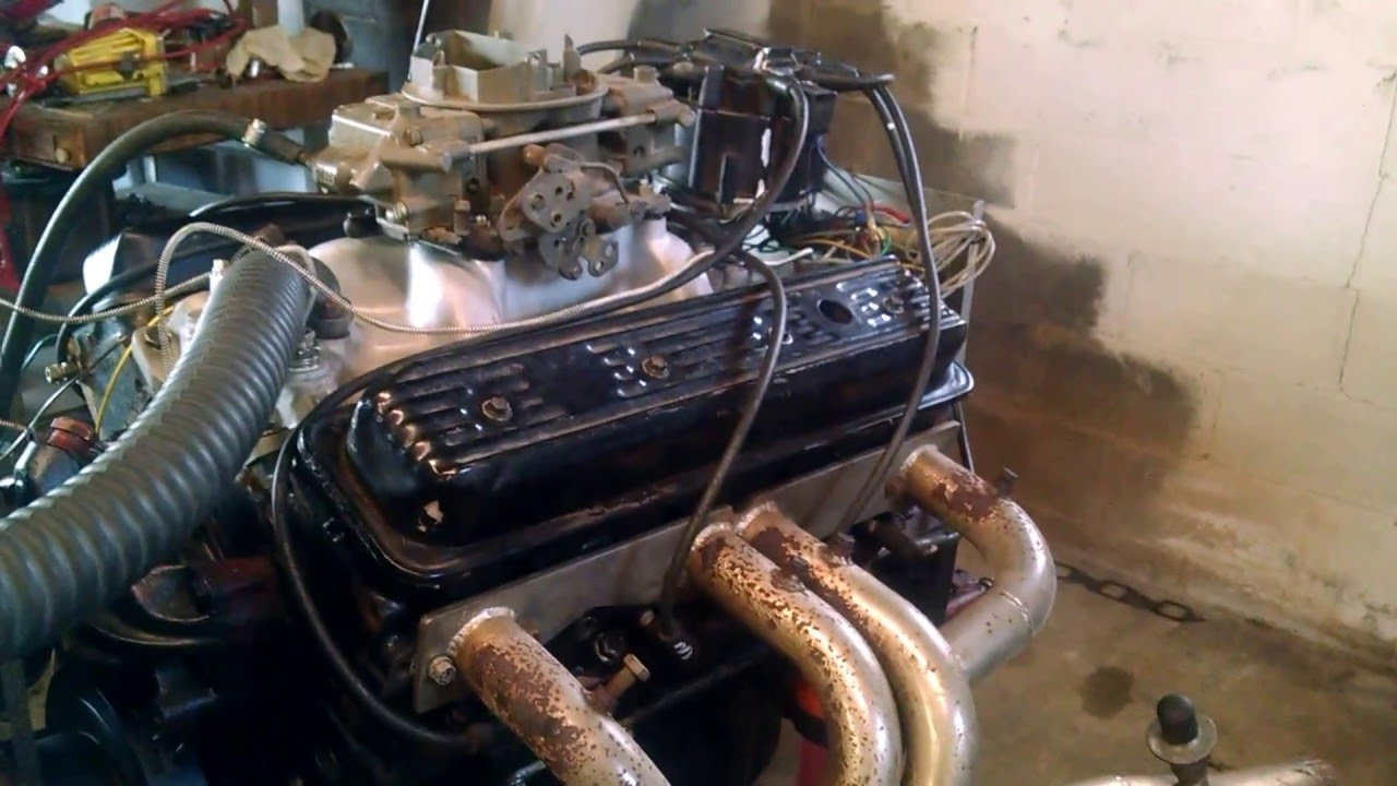 350 Chevy motor - for sale