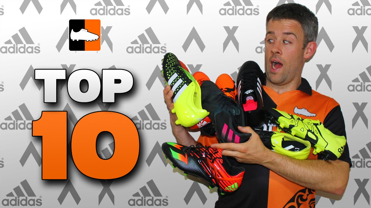 0f7a47455 Top 10 adidas Football Boots in 2015 - YouTube
