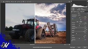 Camera RAW Editing Tutorial