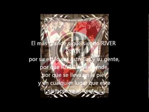 himno de river + letra