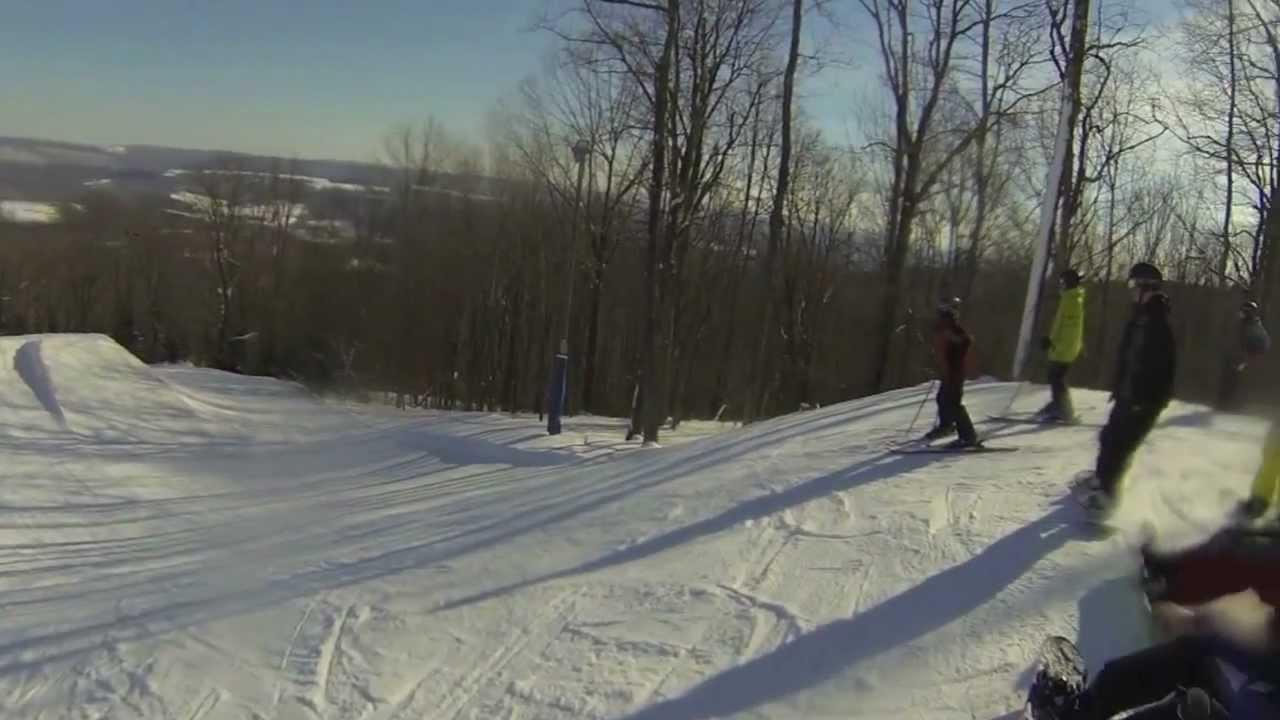 elk mountain terrain park- snowboarding - youtube