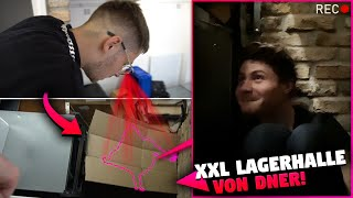 VERSTECKEN (Cutter VS. YouTuber) in DNERS riesigem LAGERHAUS!!