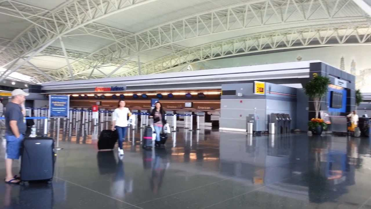 American Airlines Departure Level Terminal 8 Jfk By