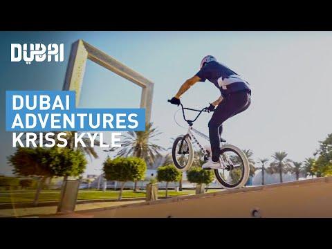 BMX Rider Kriss Kyle Drops Into Dubai
