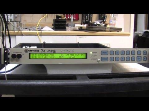 Used Satellite Equipment: Miteq U9796 KU-Band Up Converter