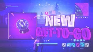 """🔴 NEW """"RIFT-TO-GO"""" ITEM ~ TOP PS4 SOLO PLAYER ~ 2000+ WINS 🏆 ~ (Fortnite Battle Royale)"""