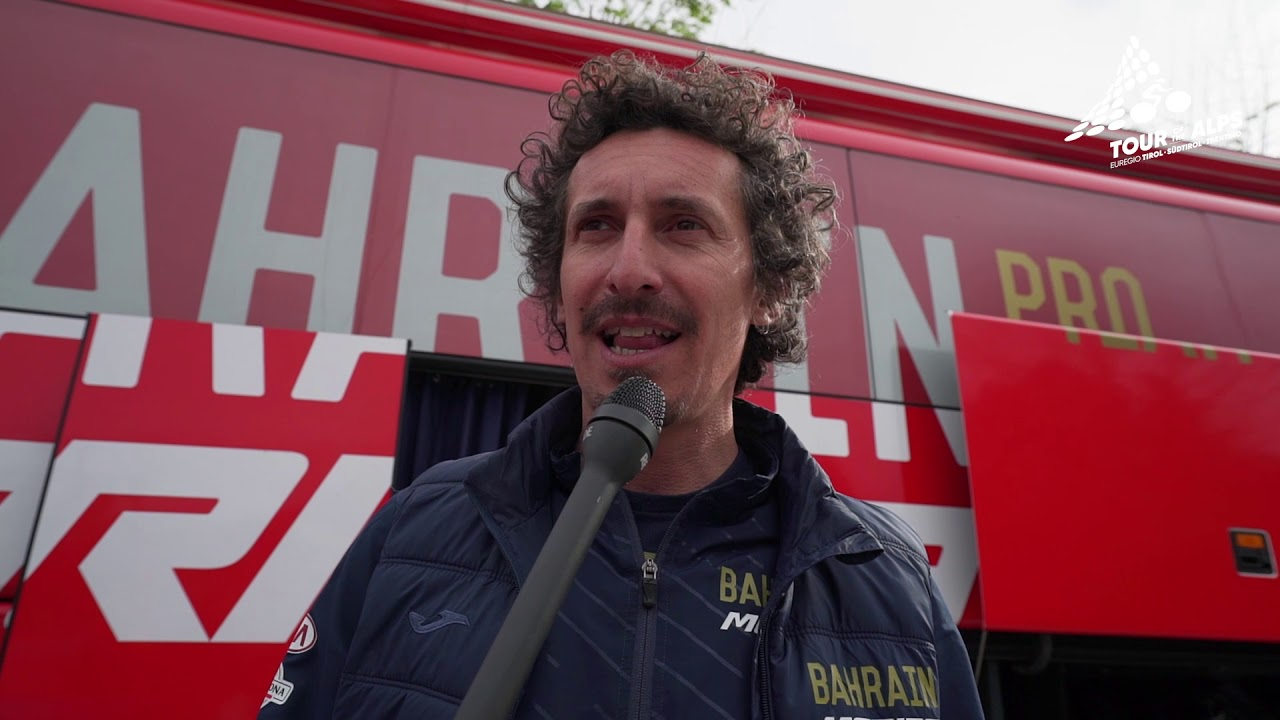 Pellizotti (Bahrain-Merida) unveils the secrets to face the cold days